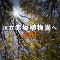 「区立赤塚植物園へ GO!」 グループのロゴ