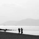 冬の渚にて・・・